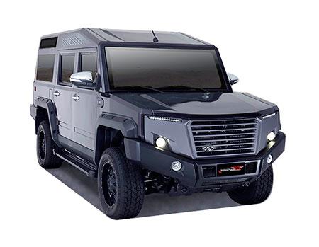 ไทยรุ่ง Thairung-Transformer II 2.8 4WD MT-ปี 2016