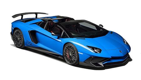 ลัมโบร์กินี Lamborghini-Aventador LP750-4 Superveloce Roadster-ปี 2016
