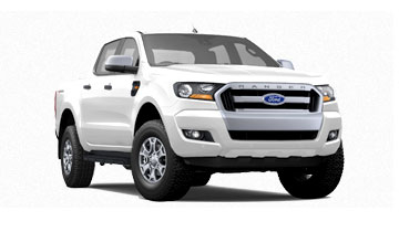 Ford Ranger Double Cab 2.2L XLT HP 4x2 Hi-Rider AT ปี 2017