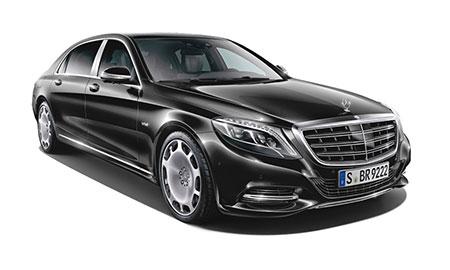 รถยนต์เมอร์เซเดส-เบนซ์ Mercedes-benz Maybach s500 Logo