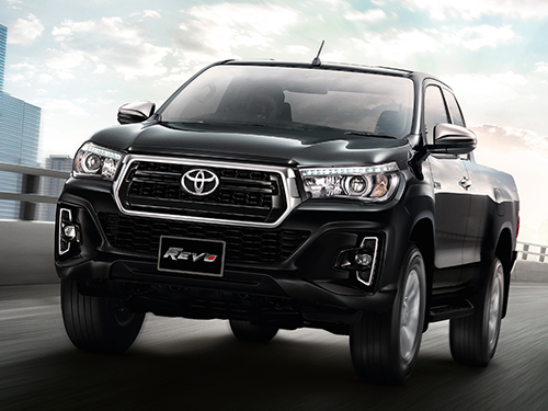 โตโยต้า Toyota-Revo Double Cab Prerunner 2x4 2.4E Plus AT-ปี 2017