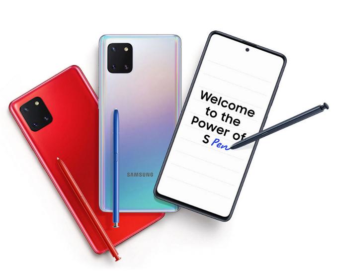SAMSUNG Galaxy Note 10 Lite ราคา-สเปค-โปรโมชั่น
