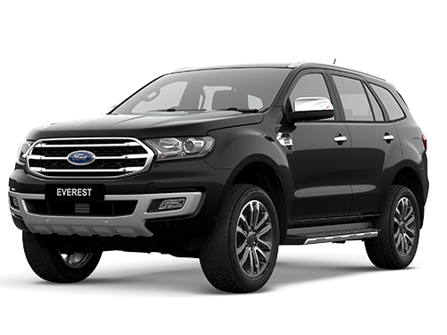 ฟอร์ด Ford-Everest 2.0L Turbo Titanium+ 4x2 AT-ปี 2018
