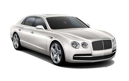 Bentley Flying Spur V8 Logo