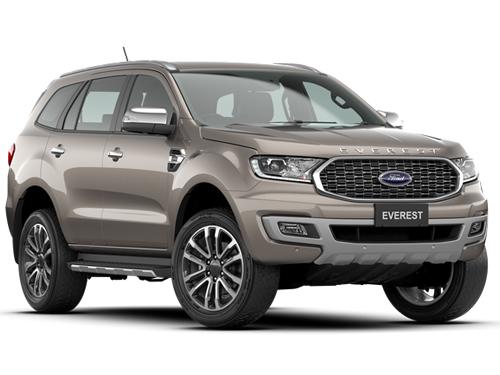 Ford Everest 2.0L Turbo Titanium+ 4x2 10AT MY2020 ปี 2020 ราคา-สเปค-โปรโมชั่น