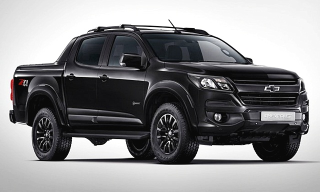 เชฟโรเลต Chevrolet-Colorado 2.5L MIDNIGHT EDITION 4x2-ปี 2019
