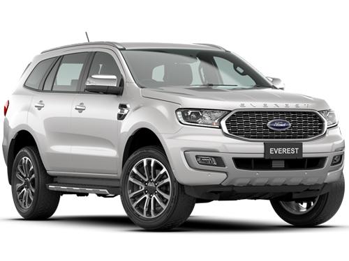 Ford Everest 2.0L Bi-Turbo Titanium+ 4x4 10AT MY2020 ปี 2020 ราคา-สเปค-โปรโมชั่น