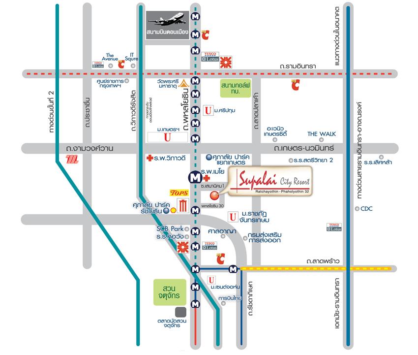 แผนที่สถานีรถไฟฟ้าสายสีม่วง - ภาพที่ 12