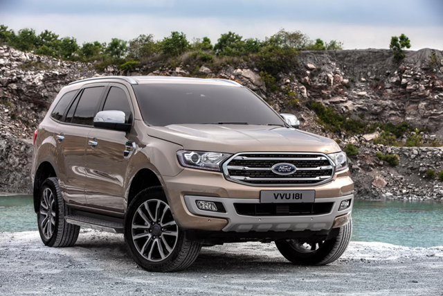 Ford Everest 2.0L Turbo Trend 4x2 AT 2018