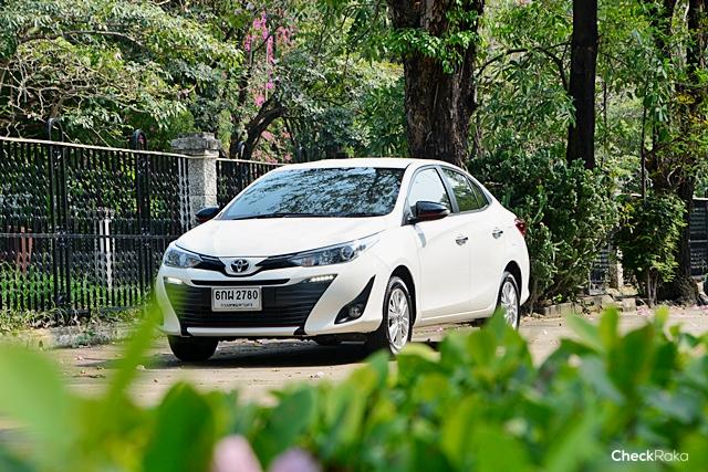 Toyota Yaris (ราคา 489,000 - 619,000 บาท)
