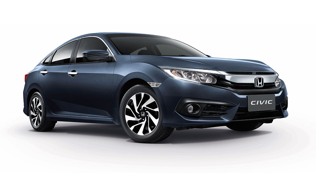 Honda Civic 1.8 E CVT 2016