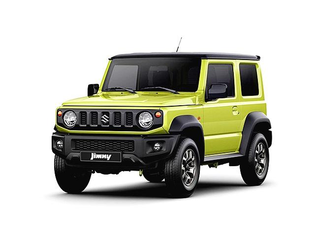Suzuki JIMNY 1.5 L 4WD AT Two-tone