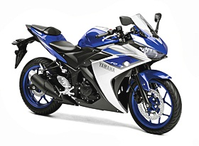 Yamaha YZF-R3 ปี 2015